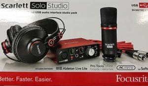 focusrite solo studio
