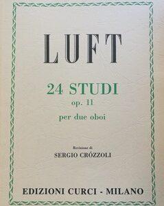24 STUDI OP.11 PER DUE OBOI – LUFT EC10640