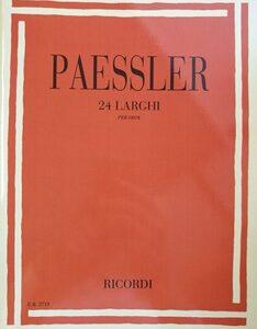 24 LARGI PER OBOE – PAESSLER ER2711