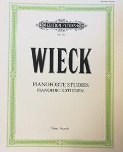 WIECK, PIANOFORTE STUDIES