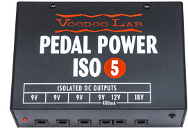 Alimentatore per pedali Pedal Power ISO-5 Voodoo LAB