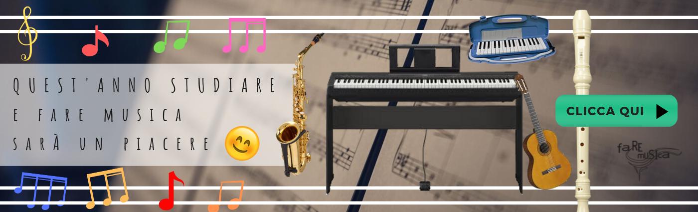promozione scuola fare musica