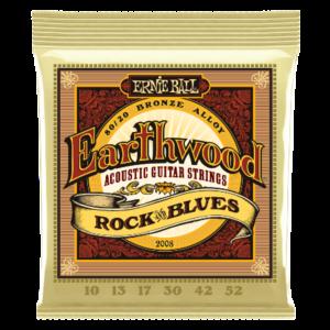 Earthwood Rock & Blues con Sol Liscio 80/20 Bronze