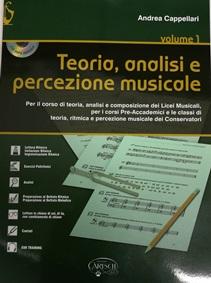 Teoria, analisi e percezione musicale – Volume 1 – Andrea Cappellari + CD