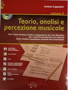 Teoria, analisi e percezione musicale – Volume 2 – Andrea Cappellari + CD