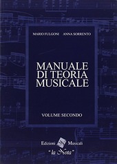 Manuale di Teoria musicale, vol. 2 Fulgoni- Sorrento