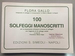 100 solfeggi manoscritti copia