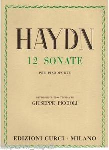 Haydn 12 sonate per pianoforte