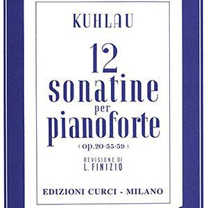 Kuhlau-12-sonatine-per-pianoforte