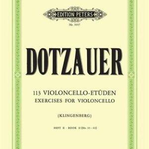 Dotzauer 113 violoncello etuden